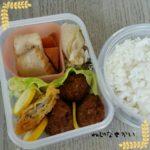 肉団子弁当、ロールパンサンドイッチ弁当、親子丼弁当、ジャンボ焼売弁当、ソーセージ弁当