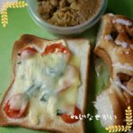 オープンサンド弁当、にゅうめん弁当、海老マヨサラダ弁当、リンゴのシャキシャキサラダ弁当、豚の厚揚げ野菜巻き弁当