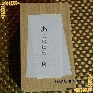 ねじなせかい_新宿_結_羊羹_季節限定08